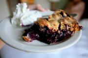 Fresh Tasty Blueberry Pie
