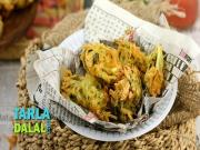 Crispy Potato Bhajias