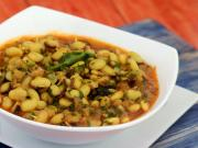 Sprouted Vaal Ki Usal Iron Rich Recipe By Tarla Dalal