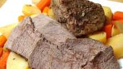 Slow Cooked Pot Roast With Vegetables One Pot Chef