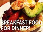 Who Likes Breakfast Food For Dinner