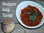 Authentic Shalgam Sabzi Indian Turnip Curry