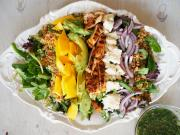 Salad Recipe Caribbean Cobb Salad 1018063 By C 4 Bimbos