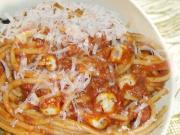 Spaghetti With Mushroom Sauce