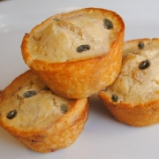 Raisin Orange Muffins