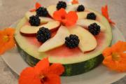 How To Make Watermelon Fruit Pizza 1016535 By Cookingwithkimberly
