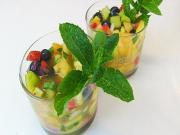 Summer Fruit Gazpacho