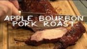 Apple Bourbon Pork Roast