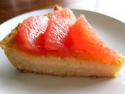 Pink Grapefruit Pie