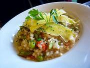 Risotto With Peas And Peppers