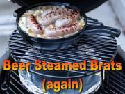 Beer Steamed Brats