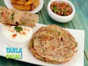 Masala Tomato Onion Paratha