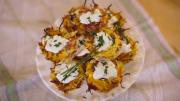 Savory Potato Nests With Honey Glazed Ham 1015456 By Grateandfull