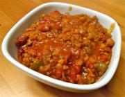 Chili Con Carne With Green Pepper