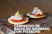 Carpaccio De Bacalao Ahumado Con Pistachos 1019881 By Dicestuqueno
