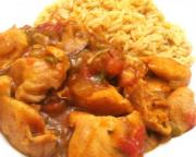 Chicken With Creole Cabbage