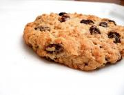 Maple Raisin Oatmeal Cookies