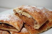 Savory Cheese Pear Strudel