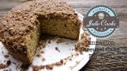 Cinnamon Streusel Cake For Two 1018555 By Legourmettv