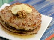 Banana Walnut Pancakes Pregnancy Recipe By Tarla Dalal