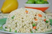 Thyme And Ginger Infused Long Grain Brown Fried Rice