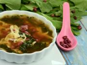 Rajma And Spinach Soup By Tarla Dalal