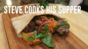 Lamb Kebab Pockets With Romesco Sauce 1018778 By Stevescooking