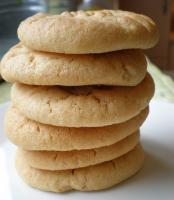 Rich Cream Peanut Butter Cookies