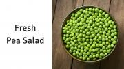 Pea Salad Made With Fresh Or Frozen Peas 1017701 By Copykat