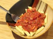 Meat Lovers Sauce With Penne