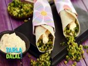 Methi N Moong Wrap