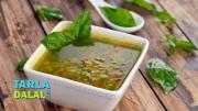 Vegetable And Basil Soup Diabetic Recipe 1018930 By Tarladalal