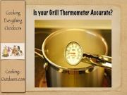 Is Your Grill Thermometer Accurate