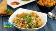 Chole Samosa Chaat