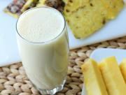 Banana Pineapple Milk Shake