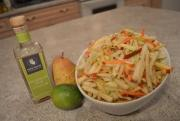 How To Make Jicama Apple And Pear Slaw