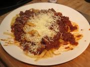 Beef Ragu With Fettucine On The Grill 1014962 By Rootboyslim