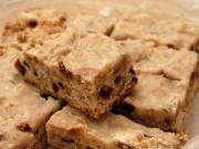 Sugar Topped Walnut Bars