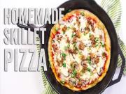 Homemade Skillet Pizza Recipe