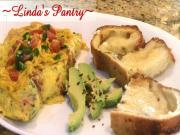Jalapeno Bacon Cheddar Omelette With Lindas Pantry