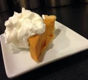 Cantaloupe Chiffon Pie