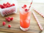 Raspberry Vanilla Soda