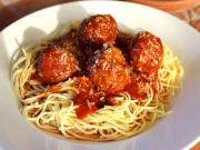 Homemade Meatballs And Sauce