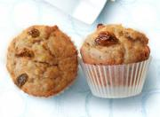 Raisin Graham Muffins