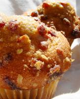 Cranberry Orange Streusel Muffins