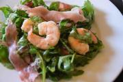 Summer Salad With Arugula Prosciutto And Shrimp 1018495 By Cookingitalianwithjoe