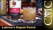 Lubrows Orgeat Punch