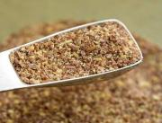 Grind Flax Seeds Into Flax Powder