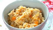 How To Cook Chicken And Pumpkin Risotto 1006117 By Videojug