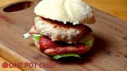 Easy Chicken Caesar Burgers 1017991 By Onepotchefshow